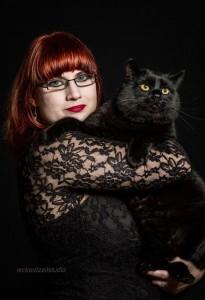 Lady Atropin Katze